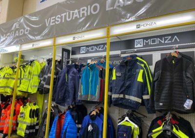 Venta de ropa y protección laboral en Gipuzkoa